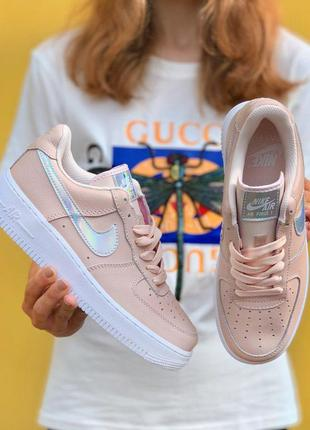 Кроссовки nike air force one pink 🌶