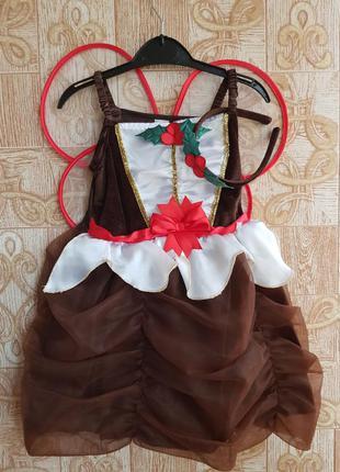 Карнавальный костюм на девочку 98 см.