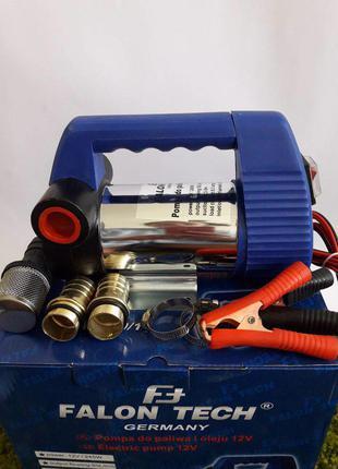 Насос 12в для перекачки топлива, бензина, дизеля, масла, воды