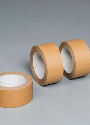 Скотч бумажный крафт, 48мм/50м, коричневый