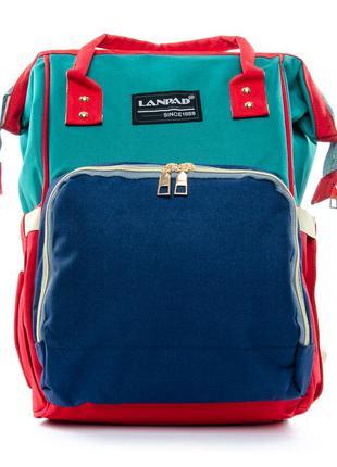 Сумка - рюкзак - органайзер для мамыlanpad. жіночий рюкзак по...