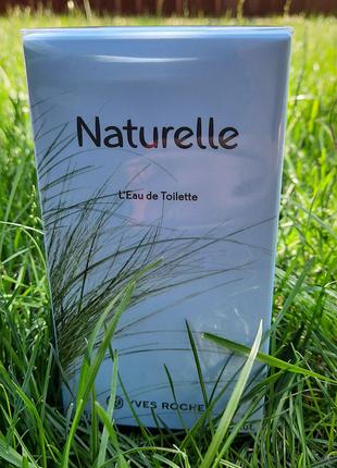 Туалетная вода Naturelle от Ив Роше Yves Rocher
