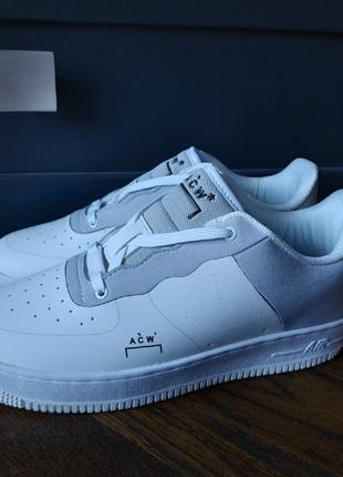 Nike x A-COLD-WALL* Air Force 1 ORIGINAL ( кроссовки, Nike, Adida