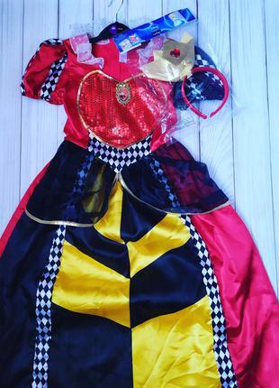 Червовая королева из алисы в стране чудес 7-8 л