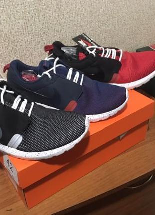 Кроссовки мужские Nike roshe run 41, 42, 43, 44, 45 Размер