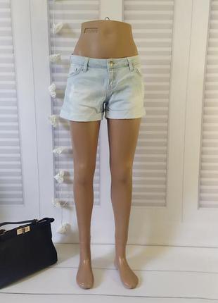 Шорты короткие джинс голубые, s