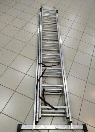 Продам лестницу 3-х секционую