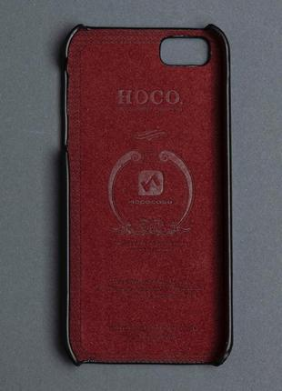 Накладка для iphone 5s hoco case black