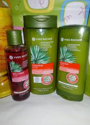 Растительный уход для окрашенных волос: шампунь, бальзам и укс...