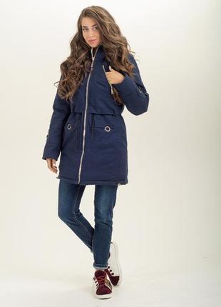 Парка куртка зимняя на меху, от производителя