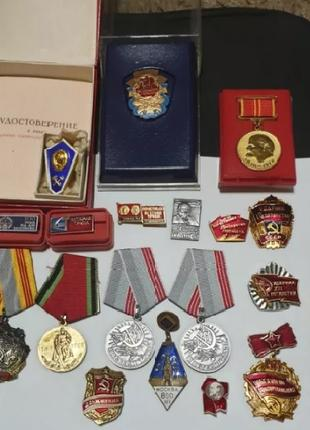 Значки с времён ссср.Орден трудовой славы СССР