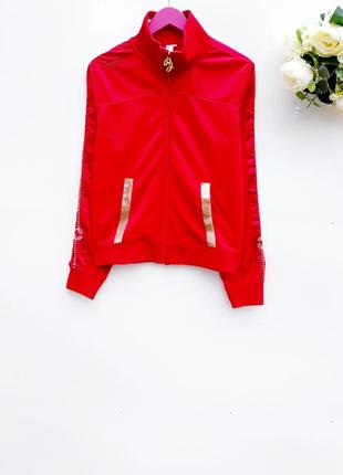 Красивый свитшот толстовка яркий спортивный свитер есть дефект