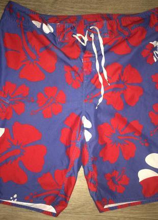 Яркие пляжные мужские шорты