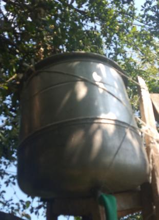 Бак из нержавейки от стиральной советской машины 30 л в сборе