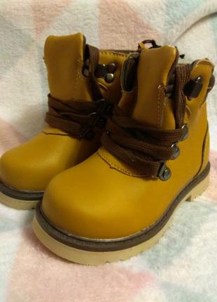 Ботинки весна-осень для мальчика 24 размер