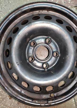 Диск стальной колёсный R15 Volkswagen Caddy