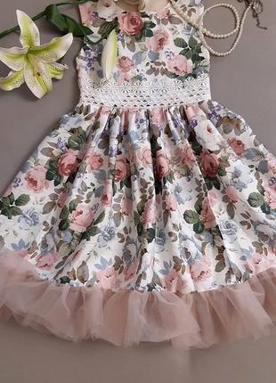 Летнее детское платье. детский сарафан