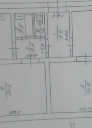 3-х кімнатна квартира