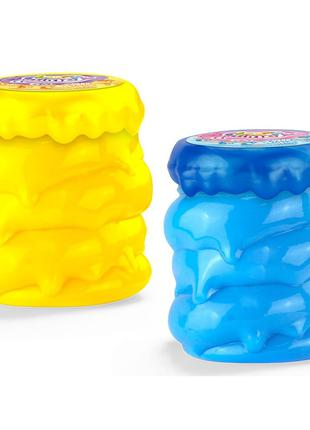 Слайм Fluffy Slime, вязкая масса, лизун - Danko Toys fls-04-01