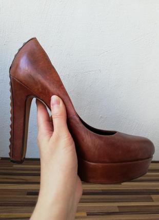 Туфли кожаные vince camuto (брендсша).