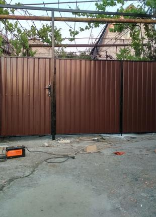 Ворота калитка забор