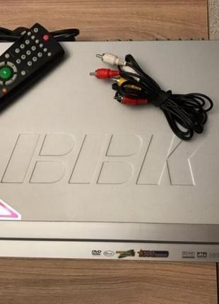 DVD-плеер BBK DV624SI с караоке