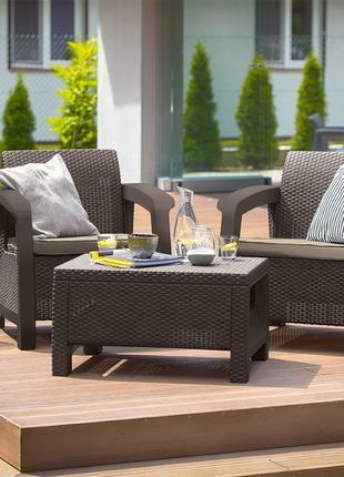 Комплект садовой мебели Keter Bahamas Weekend Set