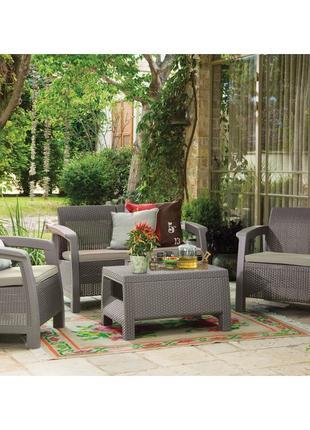 Комплект садовой мебели Keter Bahamas Set