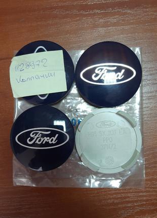 Колпачки колесного диска Ford (Для алюминиевого диска, Голубой)