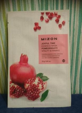 Mizon joyful time essence mask pomegranate – тканевая маска с ...