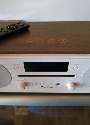 Проигрыватель Auna радио CD Aux DAB + Bluetooth