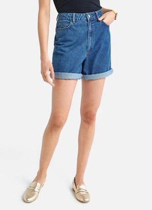 Sale до 08.08! шорты-бермуды женские джинсовые