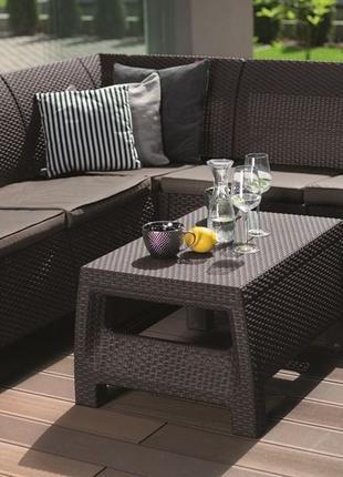 Комплект садовой мебели Keter Bahamas Relax Set