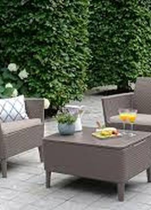 Комплект садовой мебели Allibert Salemo Balcony Set