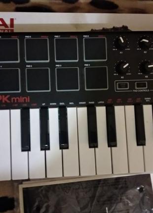 Новый AKAI MPK Mini MK2 Midi-клавиатура