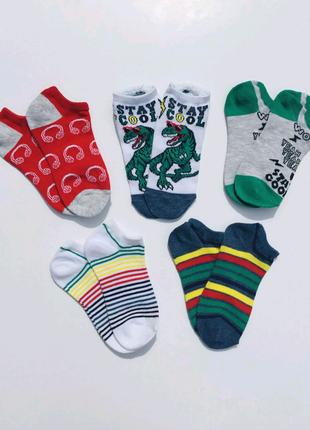 Низкие носки Динозавр для мальчика Primark (есть разные размеры)