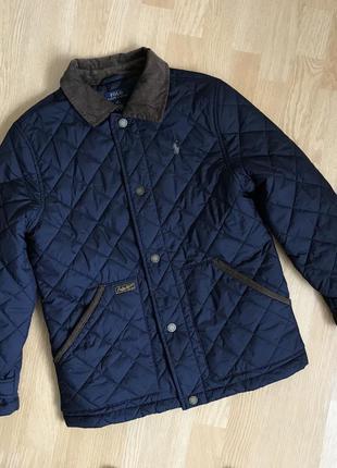 Ralph lauren стёганая куртка на мальчика