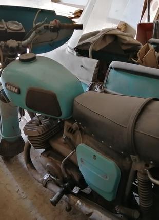 Мотоцикл с коляской ИЖ Юпитер 4к