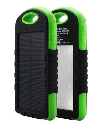 Портативное зарядное устройство Power Bank SOLAR 30000mAh
