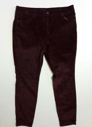 Фирменные велюровые брюки штаны