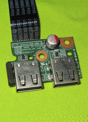 Плата USB HP 650 655 Compaq CQ58 35110EY00-04T-G 01016YY00-600-G