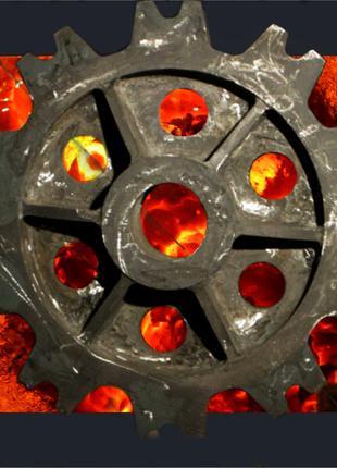 Шестерни, зубчатые колеса из стали, чугуна, нержавейки