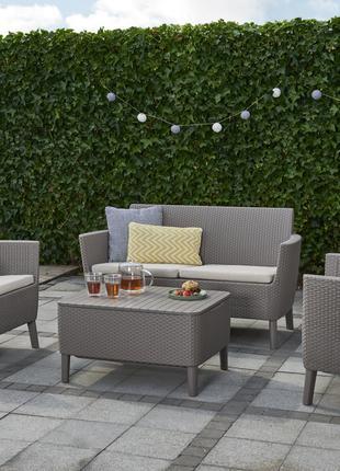 Комплект садовой мебели Allibert Salemo Set