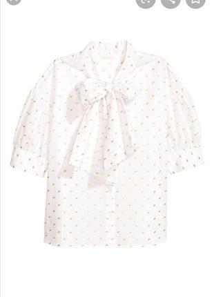 Рубашка с завязками от h&m