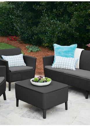Комплект садовой мебели Allibert Salemo 3 Seater Set