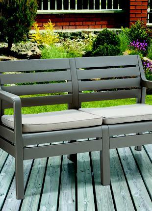 Комплект садовой мебели Keter Delano 2 Seater Bench