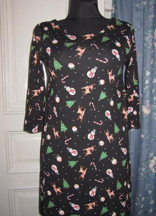 Платье  новогоднее.разм 36-38