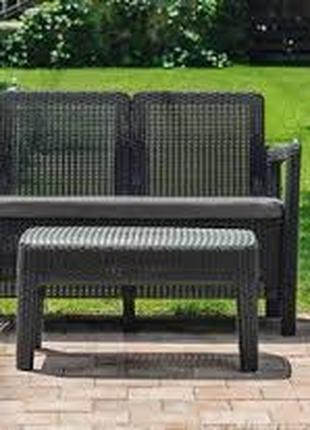 Комплект садовой мебели Keter Tarifa Sofa With Table