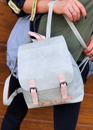 Мягкий и практичный рюкзак из эко кожи