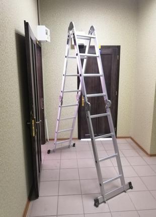 Лестница трансформер четырехсекционная